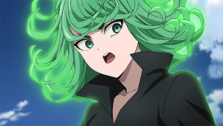 Tatsumaki One Punch Man anime screenshot