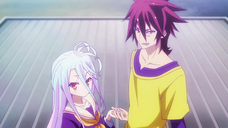 Sora and Shiro No Game No Life anime screenshot