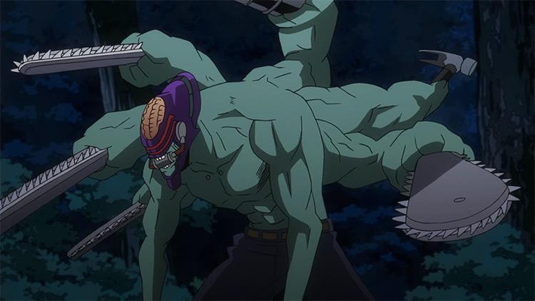 Nomu from My Hero Academia anime