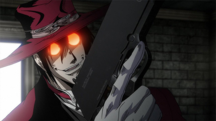Alucard Hellsing Ultimate anime screenshot