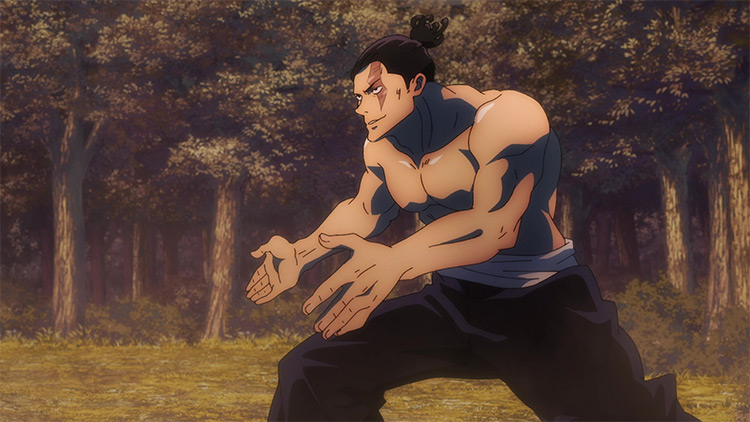 Aoi Toudou Jujutsu Kaisen anime screenshot