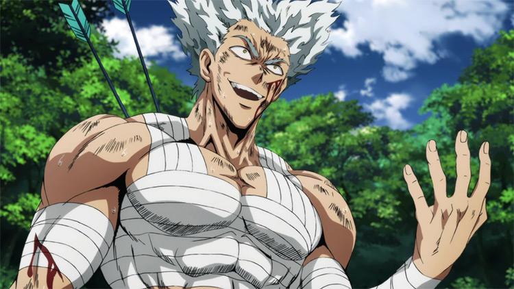 Garou from One Punch Man anime