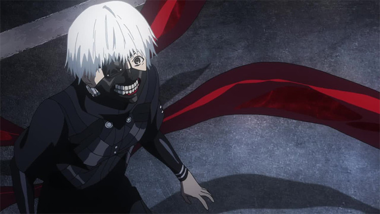 Ken Kaneki from Tokyo Ghoul anime