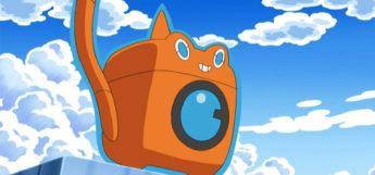 Rotom Washing Machine in the Pokemon Anime