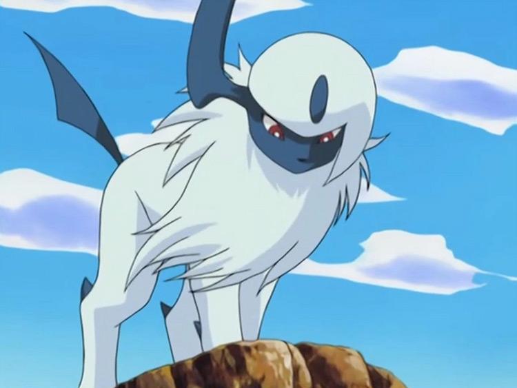 Absol Pokemon anime screenshot