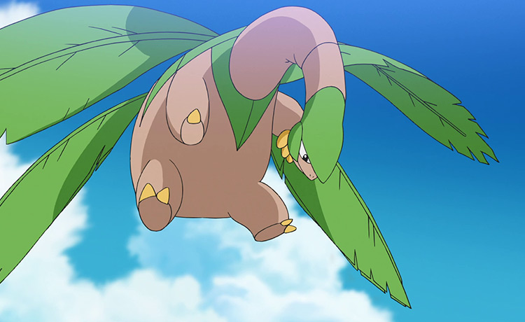 Tropius Pokemon in the anime