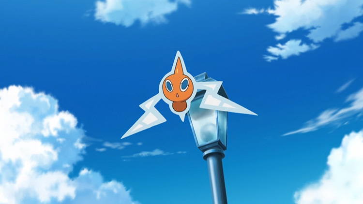 Rotom from Pokemon anime