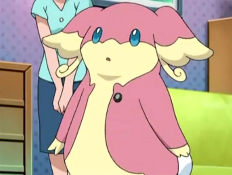 Audino Pokemon in the anime