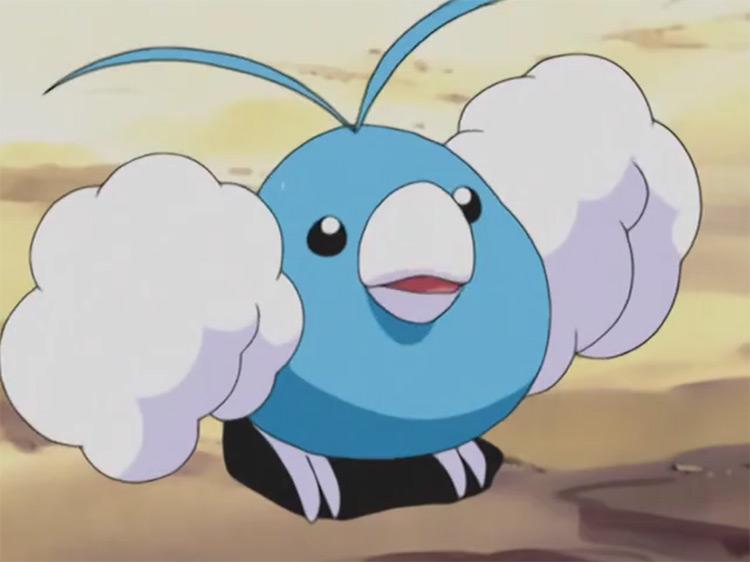 Swablu from Pokemon anime