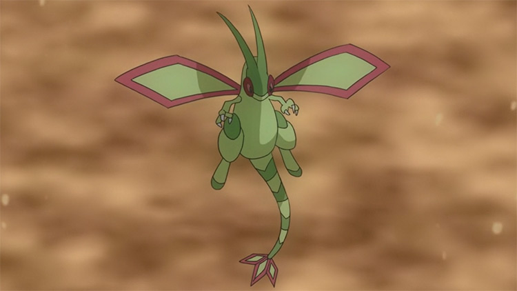 Flygon Pokemon anime screenshot