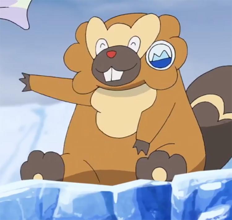 Bibarel from Pokemon anime