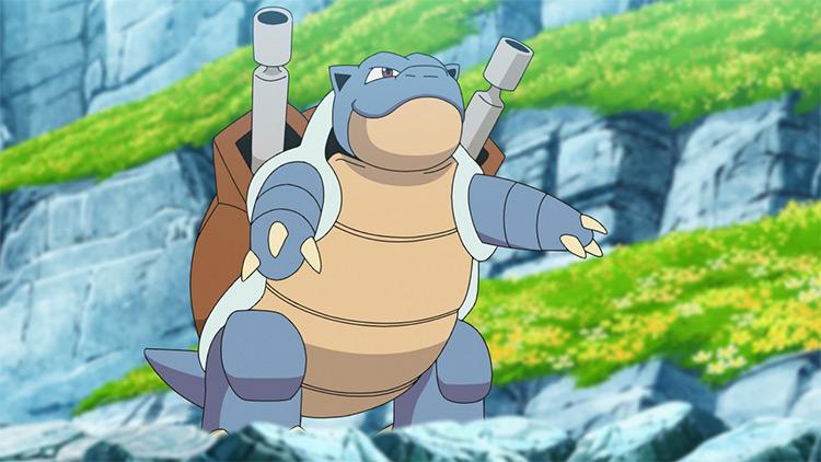 Blastoise Pokemon anime screenshot