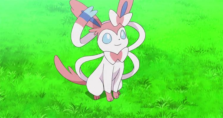 Sylveon from Pokemon anime