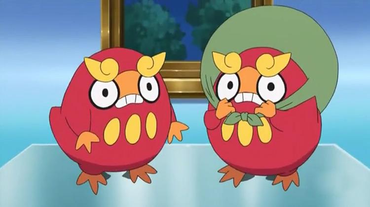 Darumaka from Pokemon anime