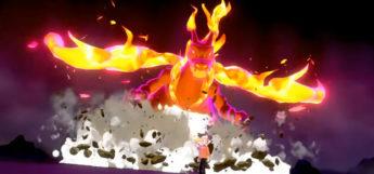 Gmax Charizard in Pokemon Sw/Sh