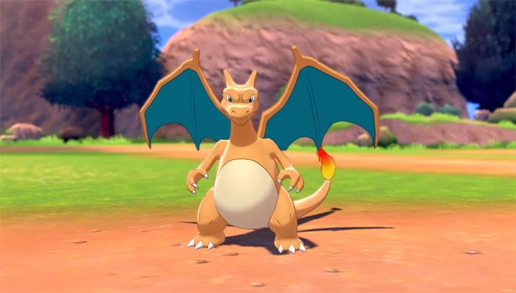 Charizard in Pokémon Sword and Shield
