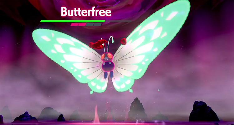 Gigantamax Butterfree from Pokémon SWSH