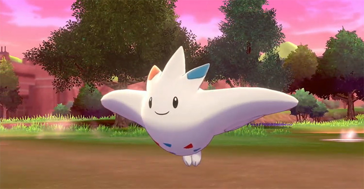 Togekiss in Pokémon Sword and Shield