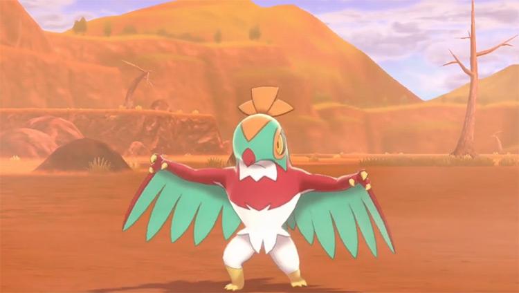 Hawlucha from Pokémon SWSH