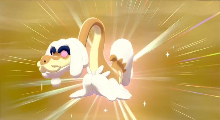 Shiny Drampa from Pokémon SWSH