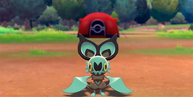Shiny Noibat from Pokémon SWSH