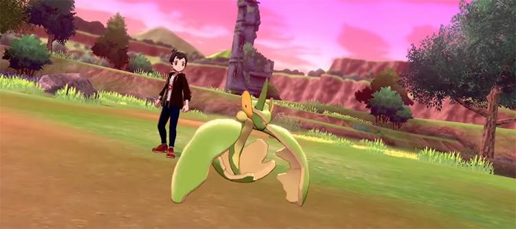 Shiny Flapple from Pokémon SWSH
