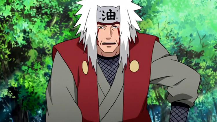 Jiraiya from Naruto anime