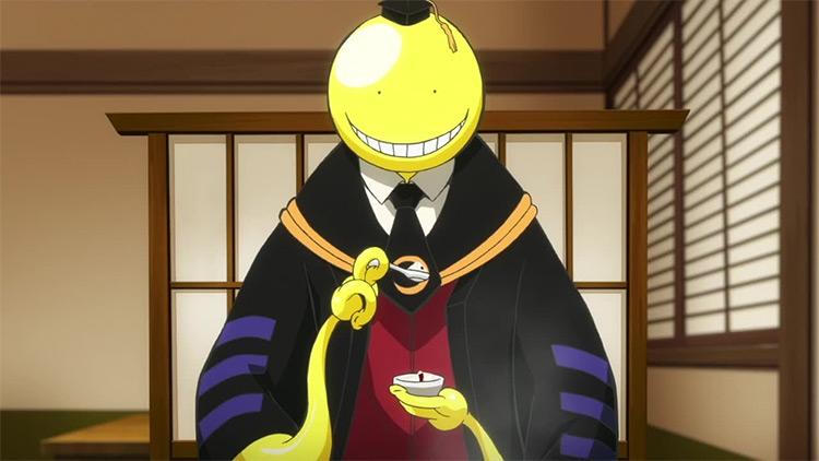 Koro-sensei Assassination Classroom anime screenshot