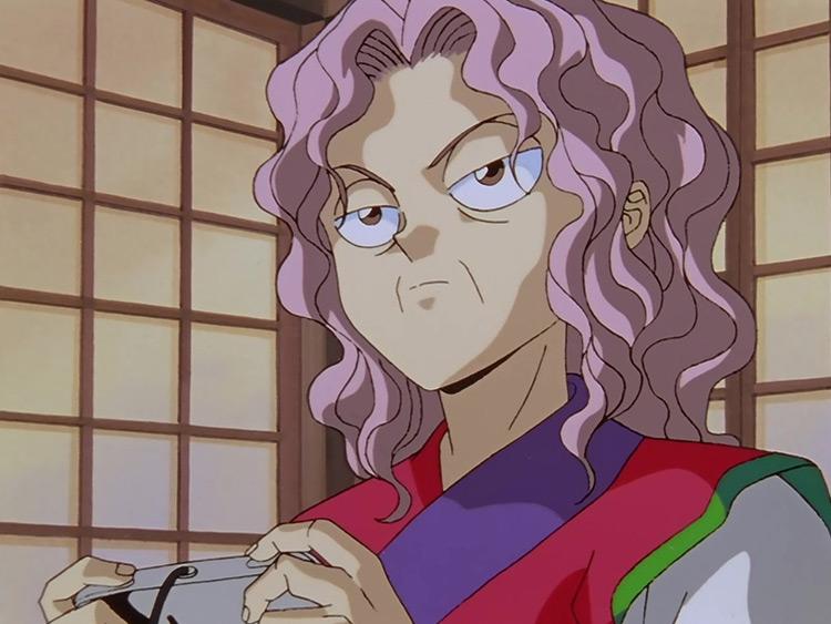 Genkai in Yu Yu Hakusho anime