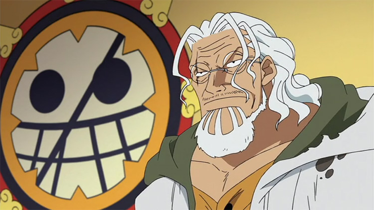 Silvers Rayleigh in One Piece anime