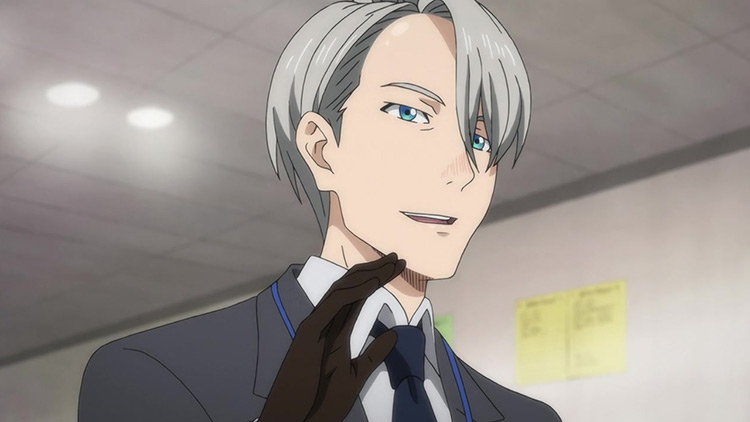 Victor Nikiforov from Yuri on Ice anime