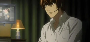 Light Yagami Screenshot from Death Note