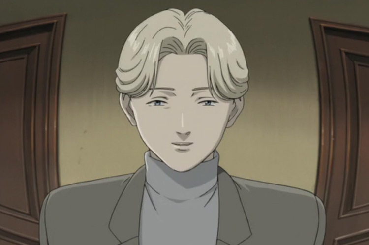 Johan Liebert from Monster anime