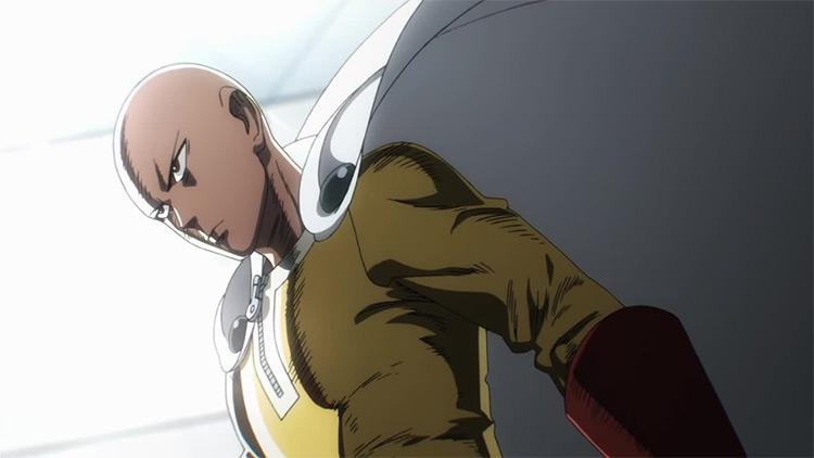 Saitama One Punch Man anime screenshot