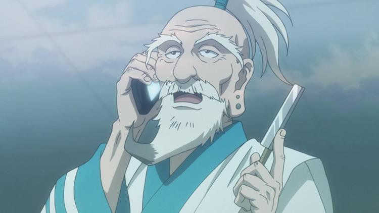 Isaac Netero from Hunter x Hunter (2011) anime