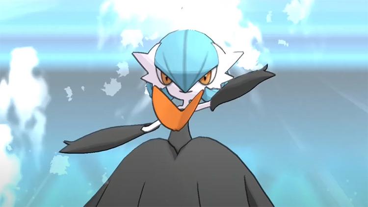 Shiny Mega Gardevoir from Pokémon Sun and Moon
