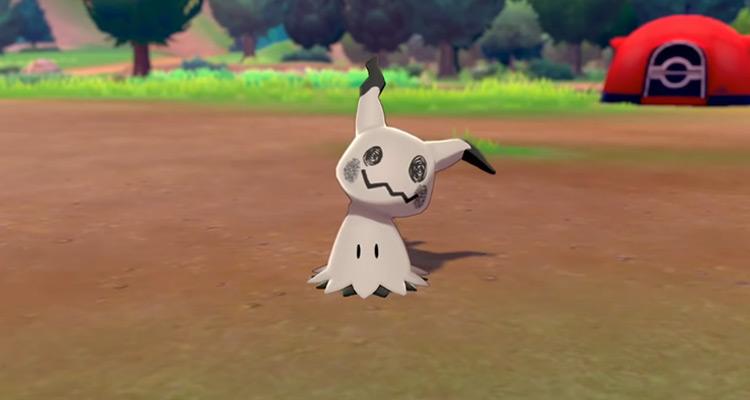 Shiny Mimikyu from Pokémon SWSH