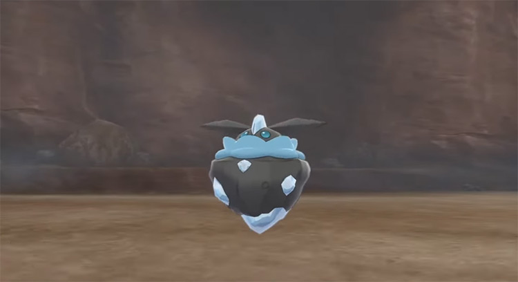 Shiny Carbink in Pokémon Sword and Shield