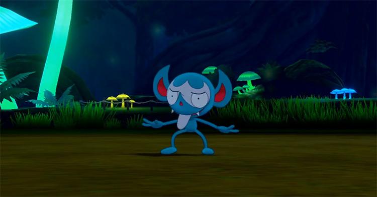 Shiny Impidimp from Pokémon SWSH