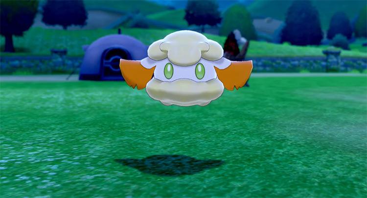 Shiny Cottonee from Pokémon camp SWSH