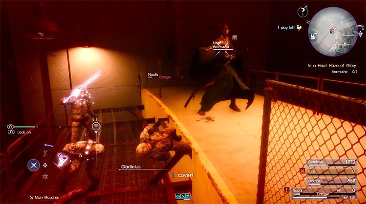 Aramusha boss in Final Fantasy XV