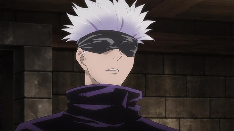 Satoru Gojou in Jujutsu Kaisen anime