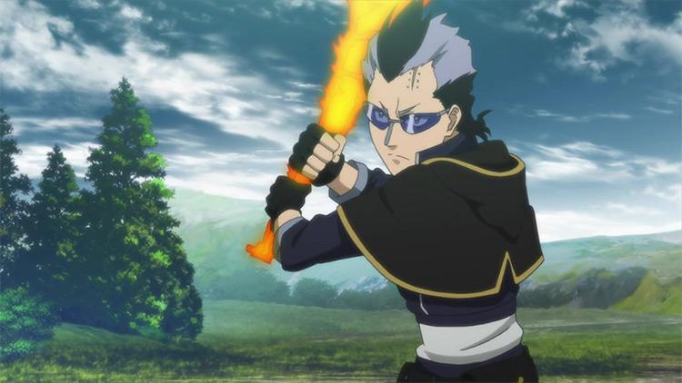 Magna Swing Black Clover anime screenshot