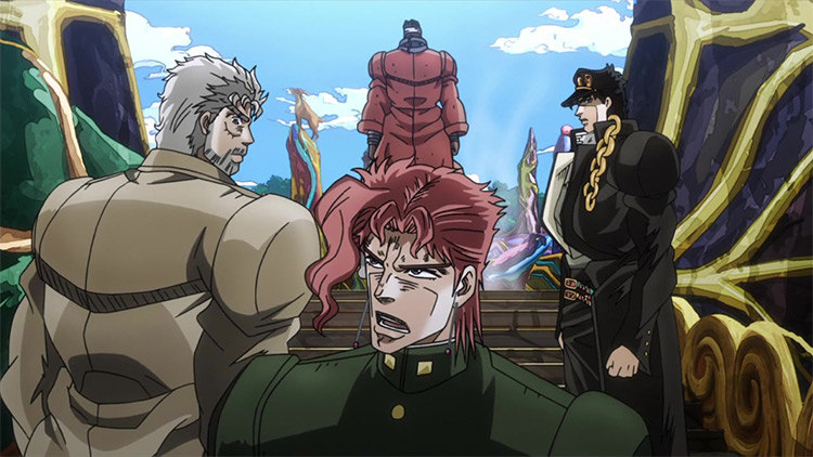 JoJo's Bizarre Adventure anime screenshot