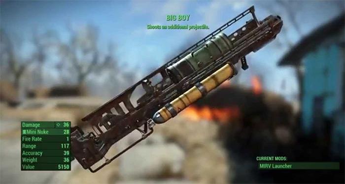 Big Boy in Fallout 4