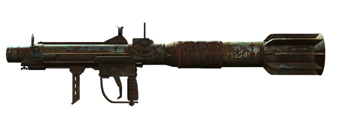 Partystarter Missile Launcher in Fallout 4