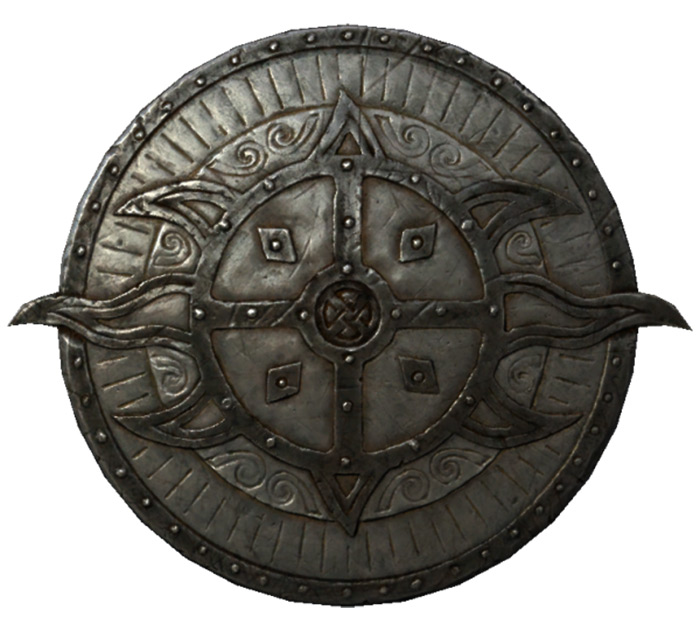 Dawnguard Rune Shield in Skyrim