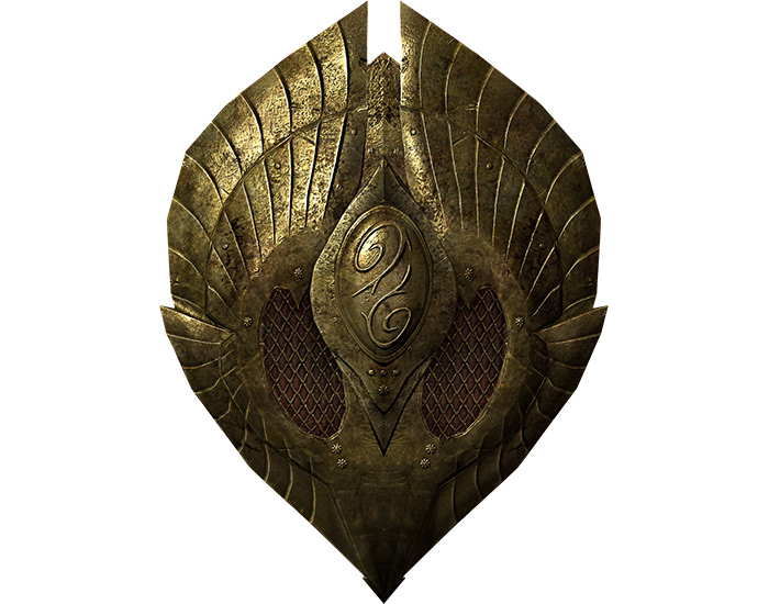 Herebanes Fortress shield in Skyrim