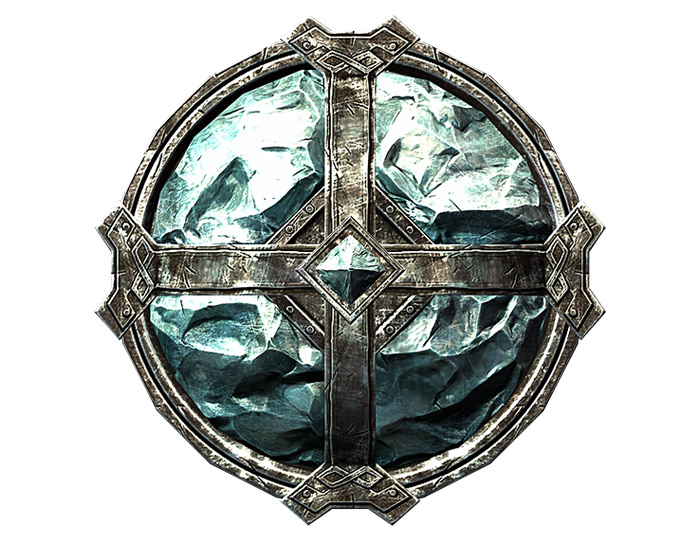 Stalhrim Shield in Skyrim