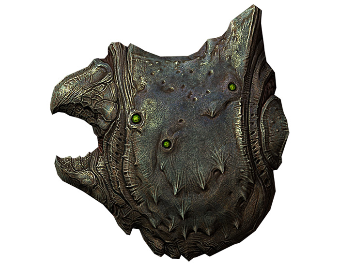 Falmer Shield in Skyrim